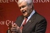 Gingrich stumps in the South