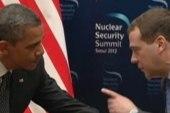 Obama asks for Medvedev for 'space' on...