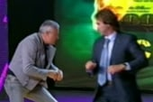 Russian talk show brawl