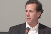 Santorum on the choice America has to make