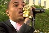 Chris Brown draws huge crowd in NYC