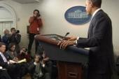 Obama talks tough