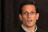 Cantor puts spending cuts before Americans