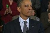 Obama calls for gun reform vote, blasts...