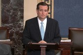 Cruz takes to the floor for faux-filibuster