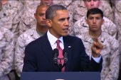 Right politicizing war on terror