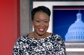 Joy Reid reveals her show name