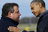 Christie's high approval ratings could be...
