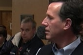 Santorum mocks health care for all Americans