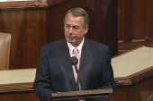 Boehner won't hold clean CR vote