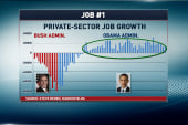 Jobs report shows slow steady growth