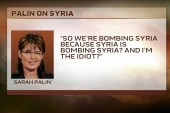 Palin, and others politicize Syria debate