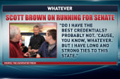 Scott Brown's big 'whatever'