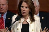 Bachmann pretends to care about the poor