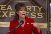 Sarah Palin barrels ahead