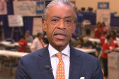 Sharpton inspired by free health clinic