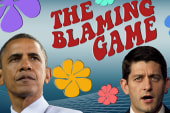 The GOP plays the blame game