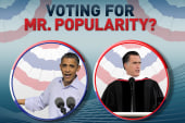 The presidential popularity contest