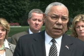 Powell blasting voting law