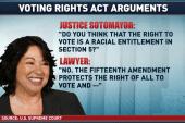 Sotomayor not pleased with Scalia's...
