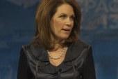 Why is Michelle Bachmann running through...