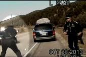 Officer suspended in minivan shooting