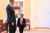 Kid President brightens the White House