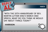 How would MLK feel about the Dream today?