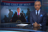 Sharpton: Yes, we're fighting too many wars