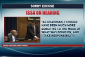 Issa apologizes - but has he changed?