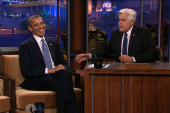 Obama talks to middle America on Tonight Show