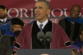 Obama speaks to Morehouse men