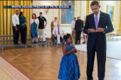 5-year-old gets note signed by president