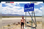 Meet the guy running across America