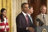 Obama announces dramatic education change