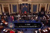 Senate fails to pass Keystone XL pipeline...