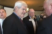 GOP rivals try to take down Gingrich