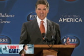 Perry recycles GOP talking points for...