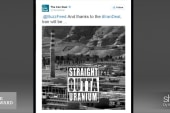 'Straight Outta Compton' meme goes viral