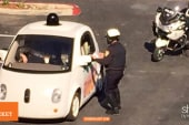 Self-driving cars ticketed & overseas arrests