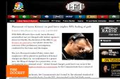 NFL's Aaron Kromer makes 'Mug of Week'