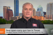 New open carry gun law in Texas
