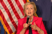 Hillary Clinton meets with SC mayors
