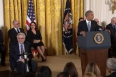 Obama honors 2015 Medal of Freedom recipients
