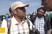 'We are not happy to be refugees of war'