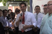 Rubio takes jabs at Clinton during PR trip