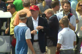 Golf, NASCAR disassociate with Trump