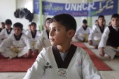 Taekwondo heals children of Zaatari