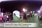 Intimidating All Blacks Haka allows 360° VR