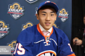 Islanders draft first Chinese player into NHL